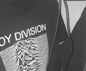 aesthetic, black and white, and joy division image