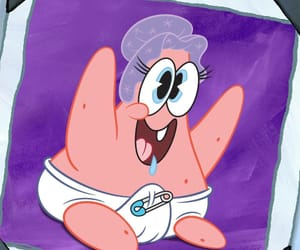 cartoon, patrick, and spongebob image