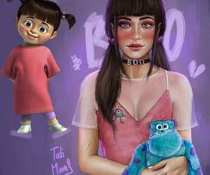 animation, cartoon, and girl image