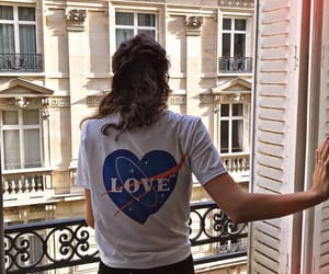 beauty, house, and t-shirt image