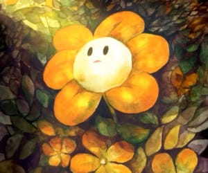 flowey and undertale image