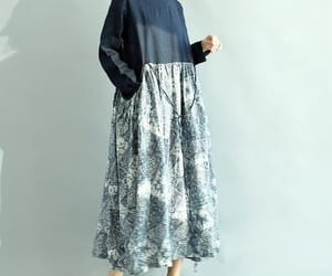 etsy, round collar, and women dress image