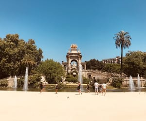 Barcelona, park, and spain image