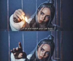 quotes, billie eilish, and words image