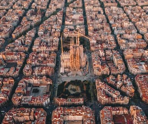 Barcelona, scenery, and spain image