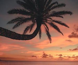 hawaii, ocean, and sky image