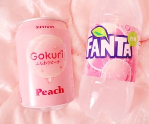 japan, peach, and pink image