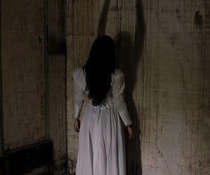 dark, creepy, and horror image