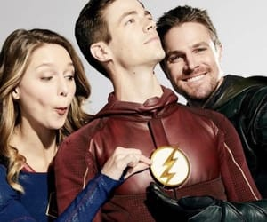Supergirl, the flash, and green arrow image