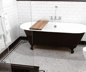 home, aesthetic, and bathroom image