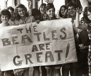 60s, the beatles, and old music image