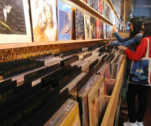 amsterdam, vinil, and music image