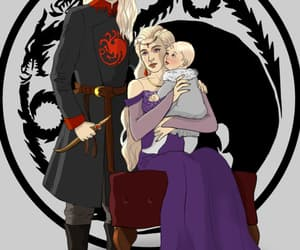 fire and blood, silver prince, and dragon prince image
