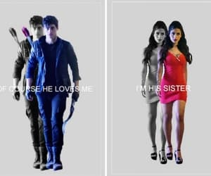 alec lightwood, isabelle lightwood, and shadowhunters image