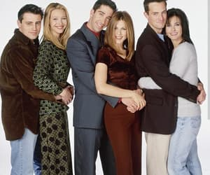 friends, Jennifer Aniston, and David Schwimmer image