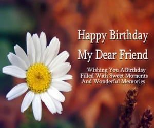 happy birthday friend image