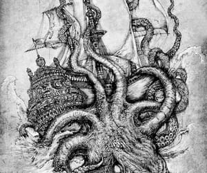 ocean, pirates, and sea image