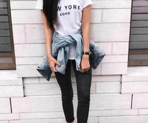 article, denim, and fashion image