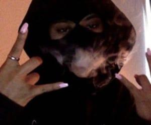 smoke, ghetto, and nails image