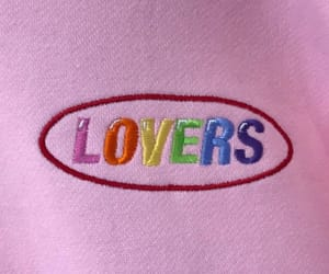 rainbow, pink, and love image