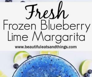 alcohol, blueberry, and margarita image