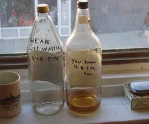 bottle, indie, and quotes image