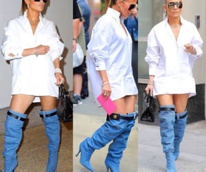 boots, jlo, and fashion image