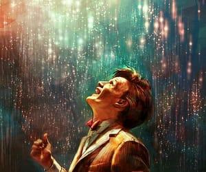 doctor who, matt smith, and art image