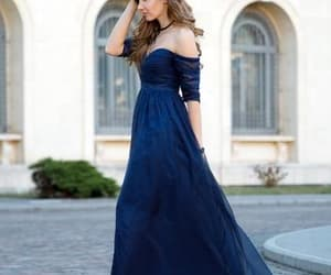 evening dress, party dress, and formal dress image
