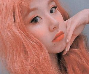 edit, kpop, and orange hair image