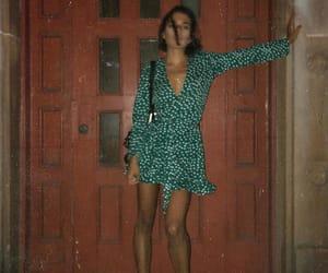 dress, legs, and skirt image