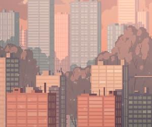buildings, korea, and scenario image