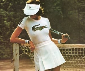 lacoste, tennis, and vintage image