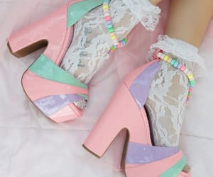 heels, kawaii, and mint image