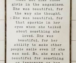 quotes, read and relate, and she was beautiful image