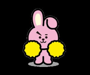 bunny, bts, and bt21 image