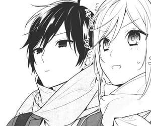 anime, mangacap, and horimiya image