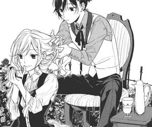 manga, horimiya, and izumi miyamura image