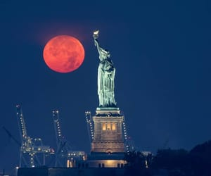 america, statue, and statue of liberty image