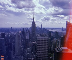 empire state building, new york, and new york city image