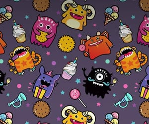 monster and wallpaper image