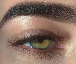 black, brown, and eyebrow image