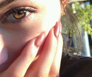 brown, makeup, and skin image
