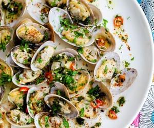 chili, cilantro, and clams image