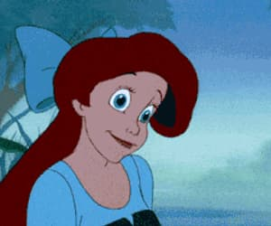 disney, little mermaid, and mermaid image