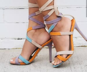 colorful, fashion, and sandals image
