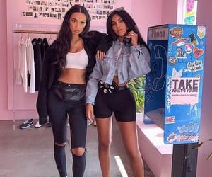 fashion, shopping, and friendship image