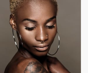 africa, blond hair, and skinny image