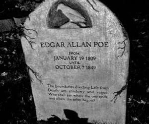 edgar allan poe, poe, and book image