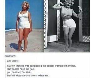 Marilyn Monroe, tumblr, and tumblr post image